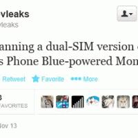 @EvLeaks: двухсимочная Nokia Moneypenny с Windows Phone 8.1