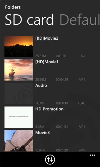 Скачать MoliPlayer Pro для Nokia Lumia Icon