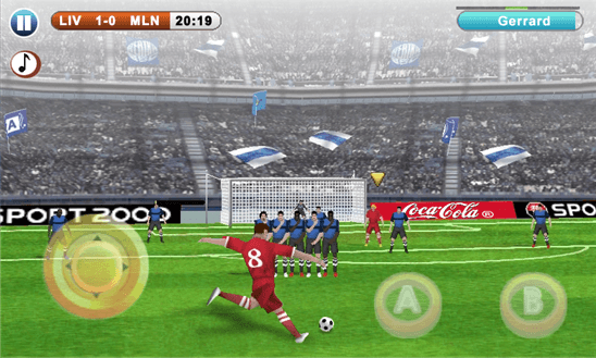 Real Soccer для Windows Phone