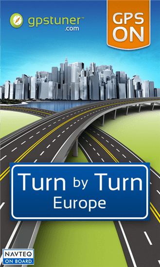 Скачать Turn by Turn Navigation Europe для Nokia Lumia 620