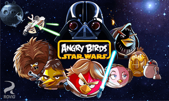 Скачать Angry Birds Star Wars для HTC One M8 for Windows