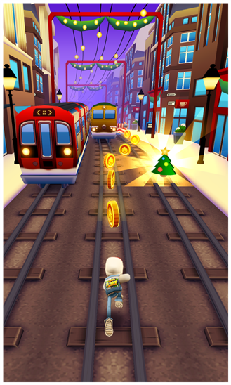 Скачать Subway Surfers для HTC Titan II