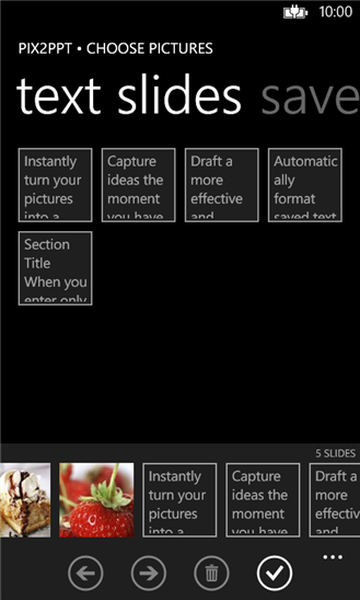 Скачать PIX2PPT для Nokia Lumia 720