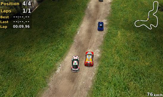 Скачать Pocket Rally для Samsung Focus S