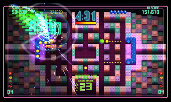 Pac-Man CE DX для Windows Phone