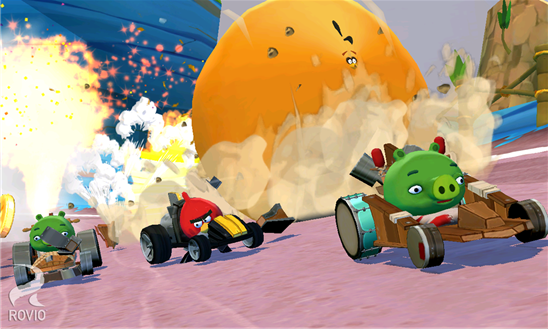 Angry Birds Go! для Windows Phone
