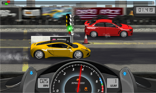 Drag Racing для Windows Phone