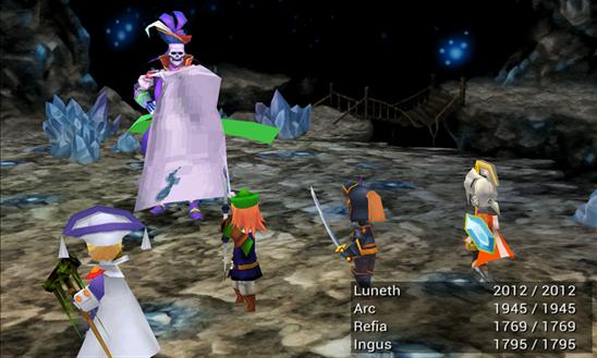 Скачать Final Fantasy III для Yezz Billy 4.0
