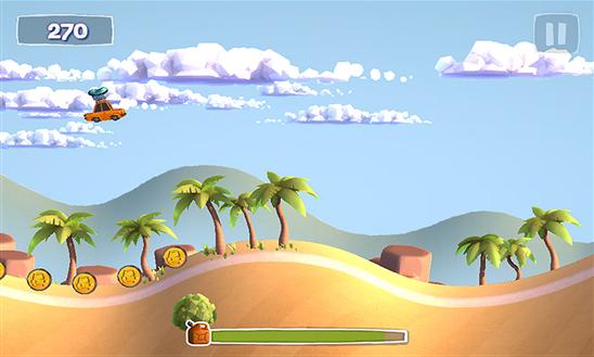 Sunny Hillride для Windows Phone