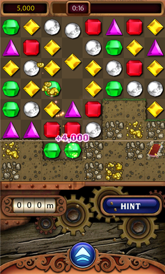 Bejeweled Live+ для Windows Phone