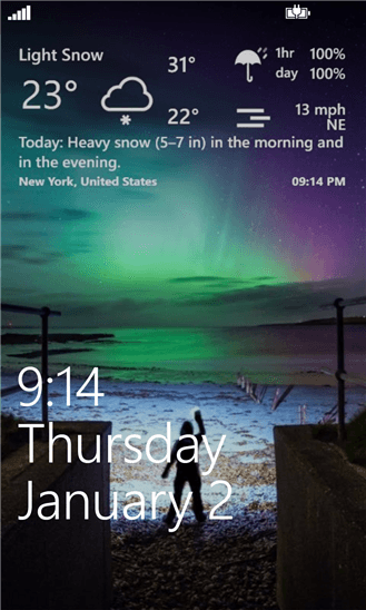 Скачать Weather Hound для Huawei Ascend W1