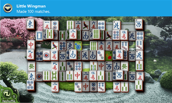 Microsoft Mahjong для Windows Phone