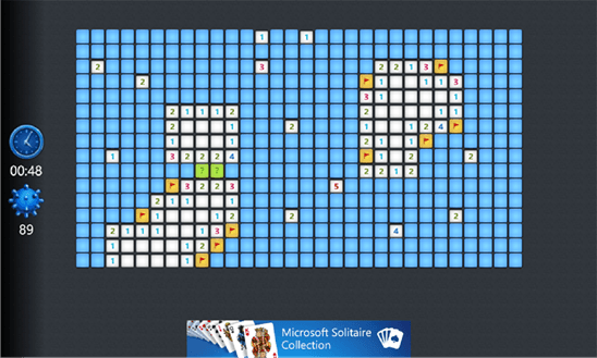 Скачать Microsoft Minesweeper для Yezz Billy 4.0