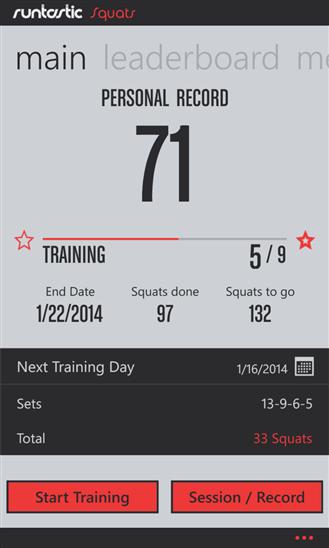 Скачать Runtastic Squats для Yezz Monaco 4.7