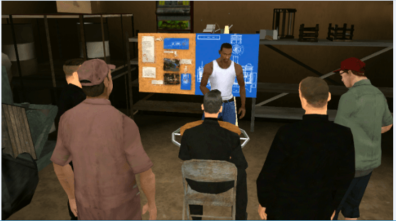 Grand Theft Auto San Andreas (GTA SA) для Windows Phone