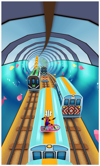 Скачать Subway Surfers для Fujitsu IS12T