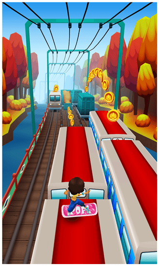 Скачать Subway Surfers для HTC Radar