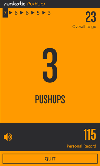 Скачать Runtastic Push-Ups для Samsung Focus S