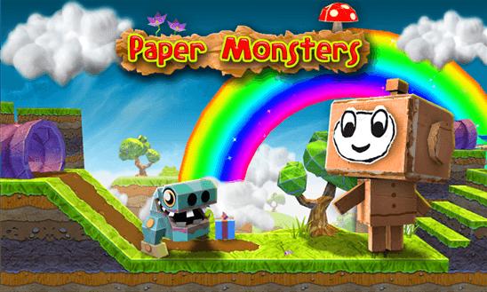 Скачать Paper Monsters для Microsoft Lumia 430