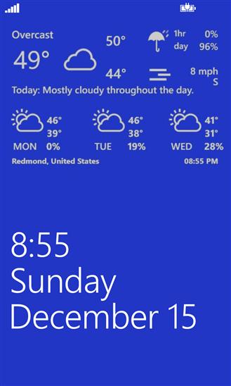 Скачать Weather Hound для HTC 8S