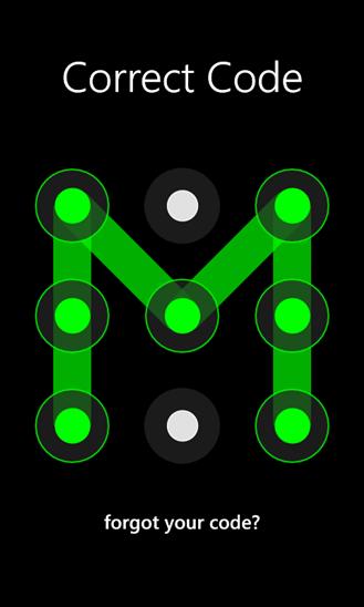 Скачать Photo Dot Lock для HTC Surround