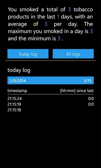 Скачать Smoking Control для HTC 7 Mozart