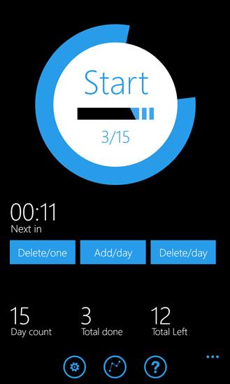 Smoking Control для Windows Phone