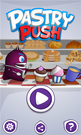 Pastry Push для Windows Phone