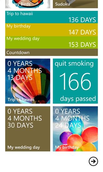 Скачать Countdown для Nokia Lumia 625