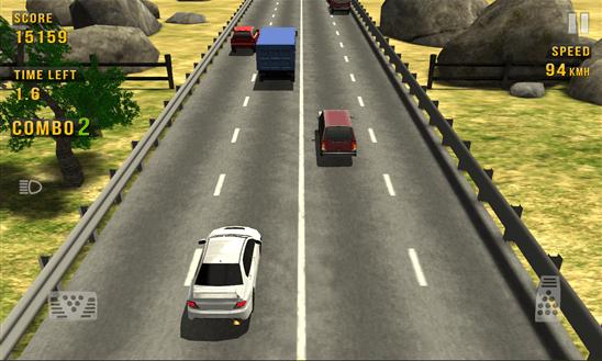Скачать Traffic Racer для Yezz Billy 4.0