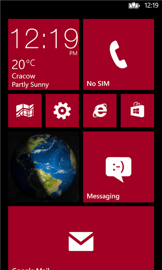 Earth Lock Screen для Windows Phone