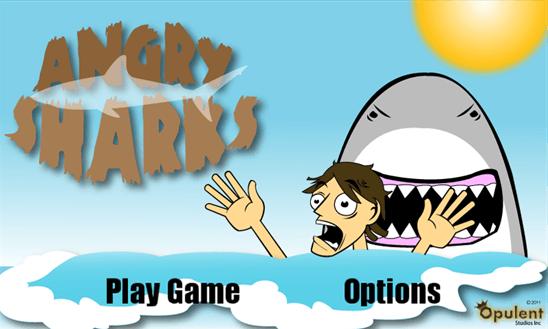 Angry Sharks для Windows Phone
