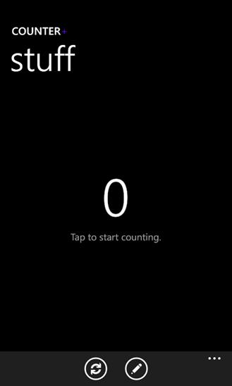 Скачать Counter+ для HTC 7 Mozart