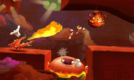 Скачать Rayman Fiesta Run для Yezz Billy 4.0