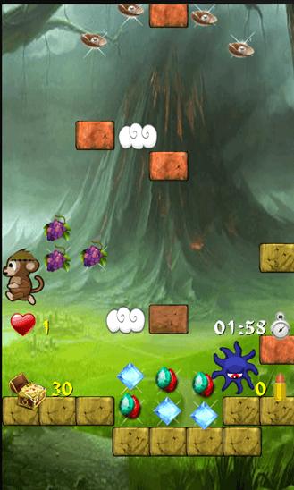 Скачать Treasure Monkey для Samsung Focus S
