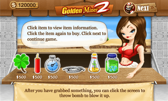 Golden Miner 2 для Windows Phone