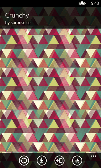Скачать Wallpaper Patterns Pro для HTC 7 Trophy