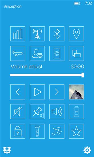 Quick Controls для Windows Phone