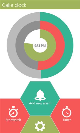 Скачать Cake Clock для LG Optimus 7
