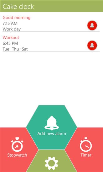 Скачать Cake Clock для Nokia Lumia 510