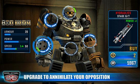 Real Steel World Robot Boxing для Windows Phone