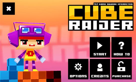 Скачать Cube Raider Full для Nokia Lumia 820