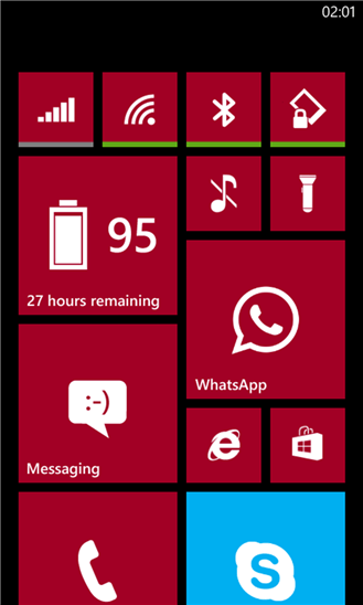 Status Tiles для Windows Phone