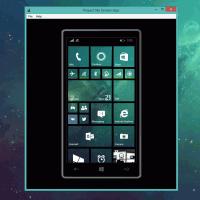 Вышло приложение для проекции экрана Windows Phone 8.1 на ПК