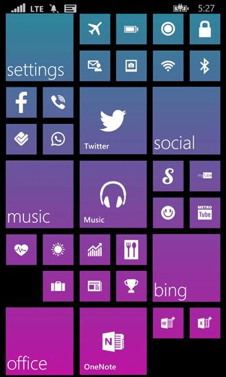 Скачать Start Perfect для Microsoft Lumia 540