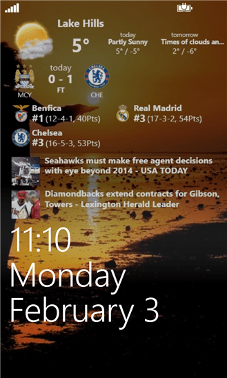 Скачать Awesome Lock для HTC 7 Trophy