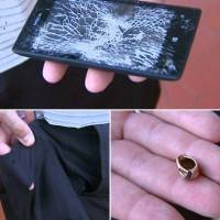 Nokia Lumia 520 спасла офицера полиции от пули