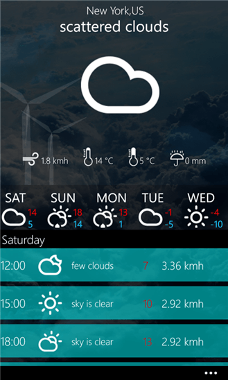 Скачать Weather Premium для Nokia Lumia Icon