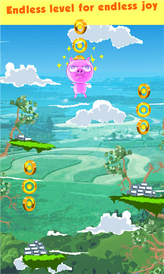 Скачать Crazy Piggy: Super Jump для Blu Win HD