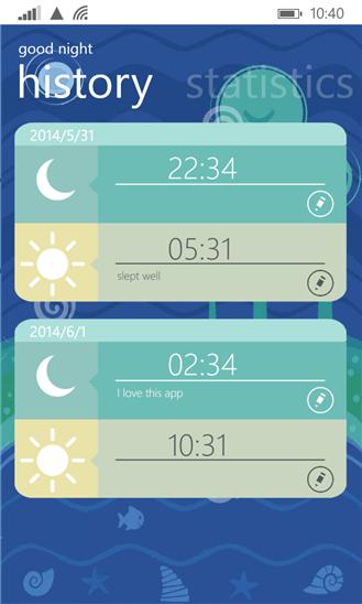 Скачать good night для HTC 7 Mozart